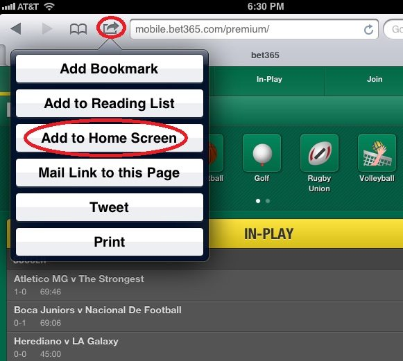 bet365-add-to-home-screen