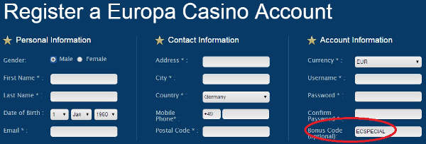 europa-casino-bonus-code-screenshot