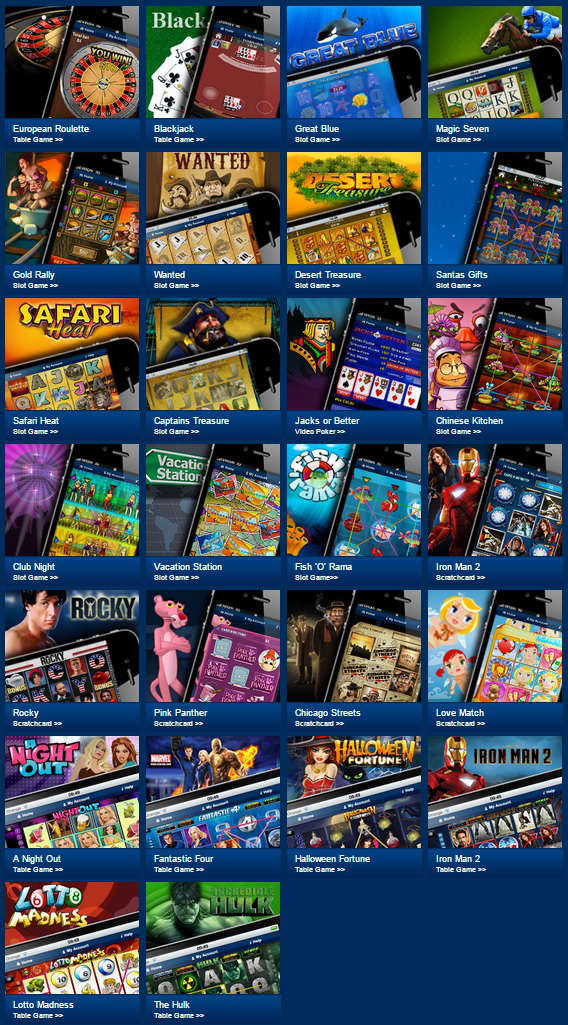 mobile casino games uk