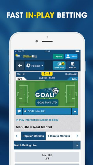 sports william hill bet results