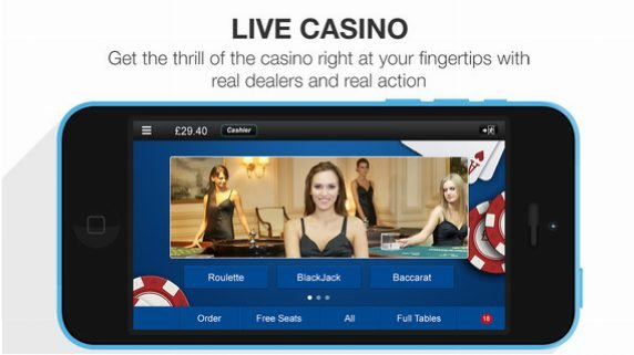 Betfred live casino app review